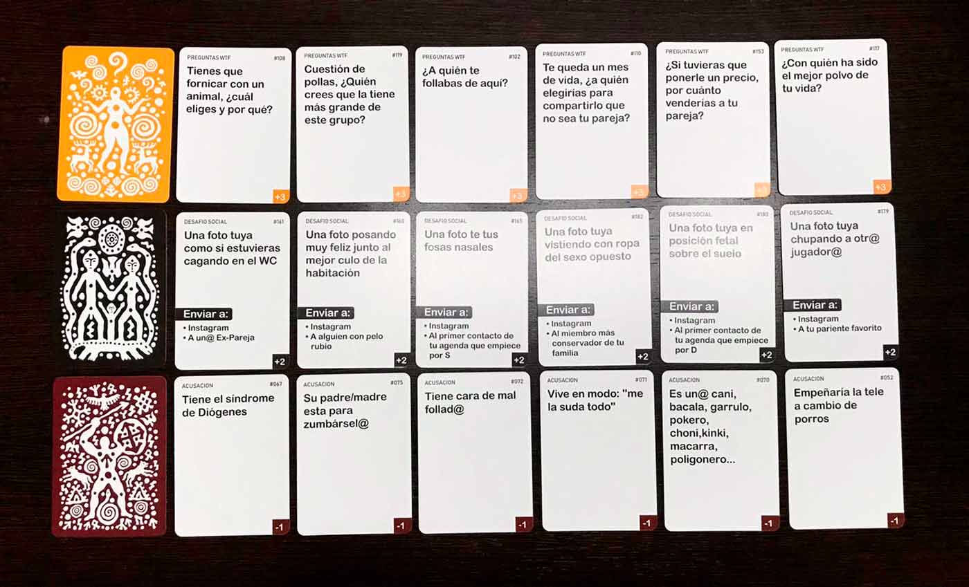cartas-tribu-sinverguenzas-juego
