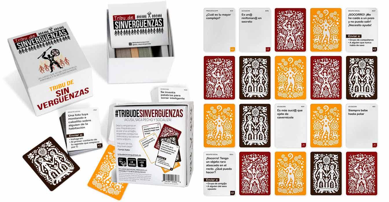 tribu-de-sinverguenzas-juego-cartas-mesa